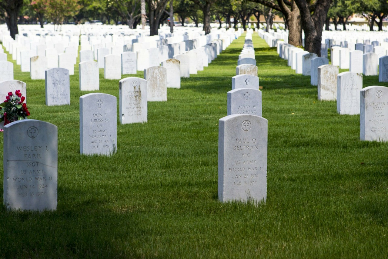 Travaux de cimetière