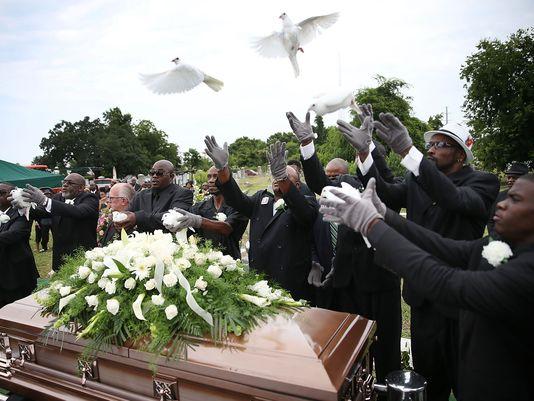 Rites funeraires