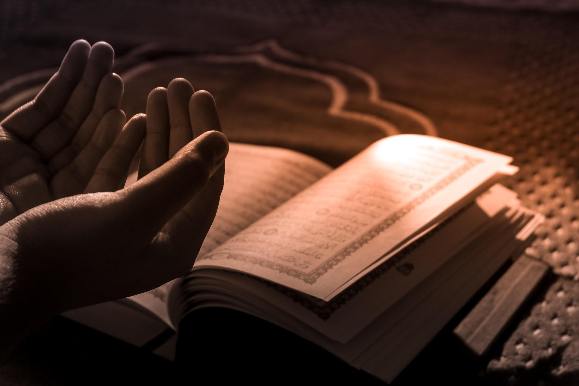 Prières pour les mots musulman - islam